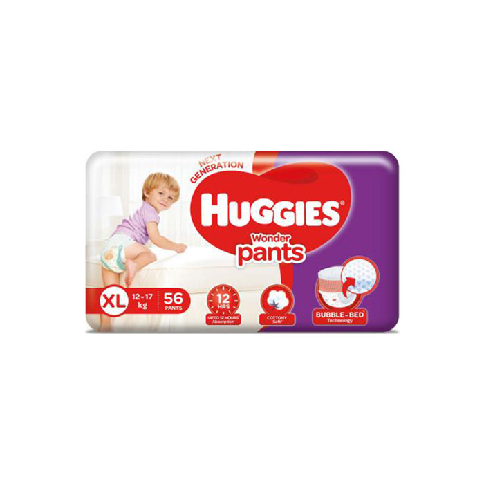 Diapers | Huggies, Wonder Pants Jumbo X Large 54'S 56'S