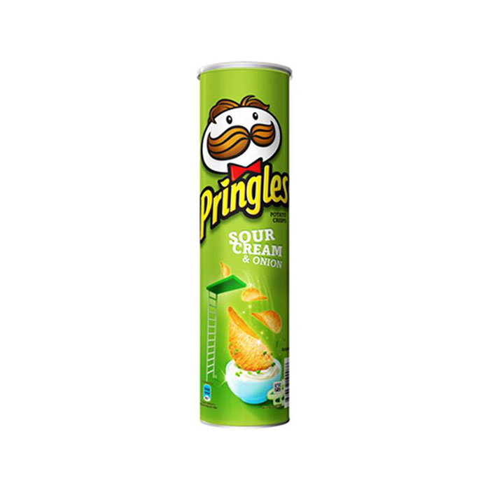 Potato Chips Sour Cream & Onion | Pringles  147 g