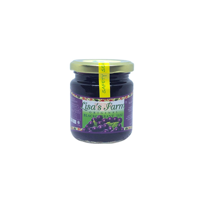 Blackcurrant Jam | Lisa's Farm 240 g