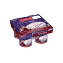Yogurt Black Cherry  | Pascual 4 x 125 g