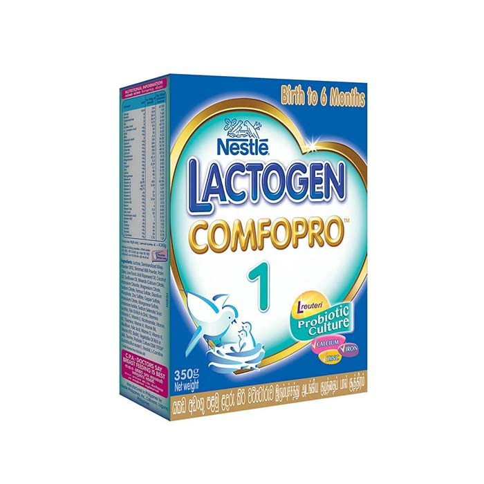 ComfoPro-1 Birth to 6 months | Nestle Lactogen 350 g