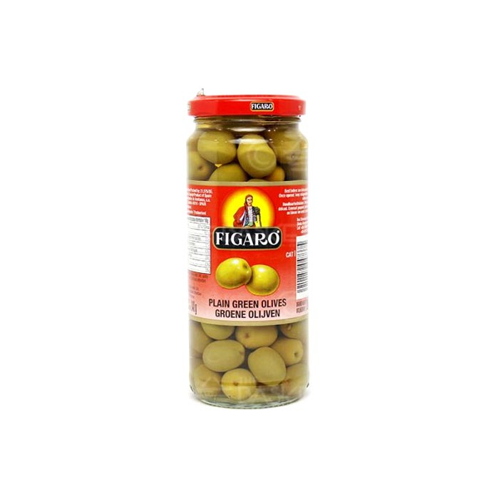 Plain Green Olives | Figaro 200 g
