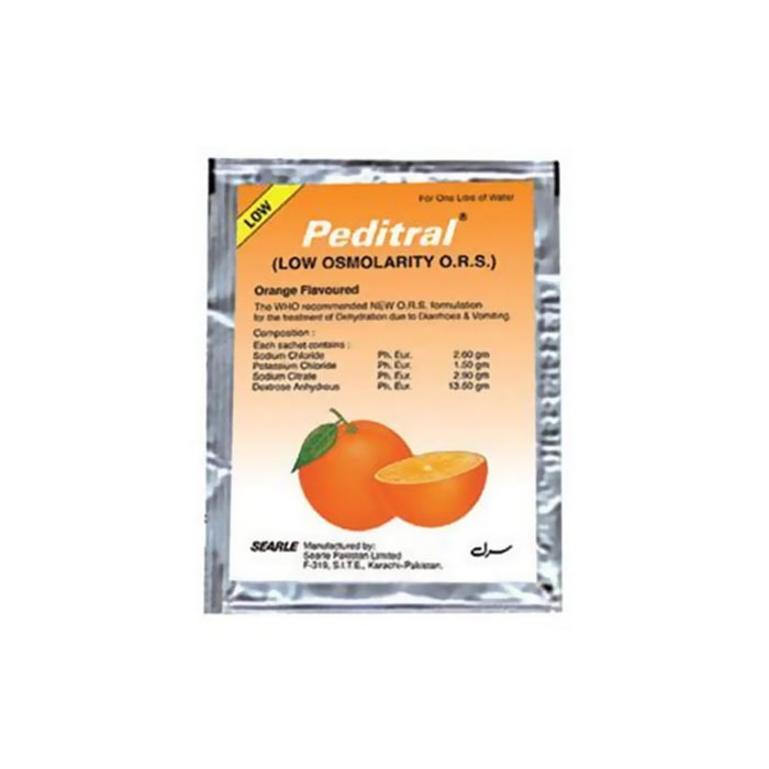 Peditral (O.R.S) Orange Flavour