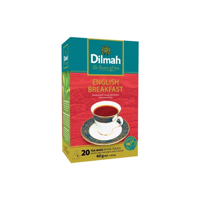 Dilmah English Breakfast Tea (20 Bags)