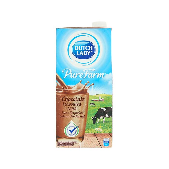 Dutch Lady UHT Milk Chocolate 1 L