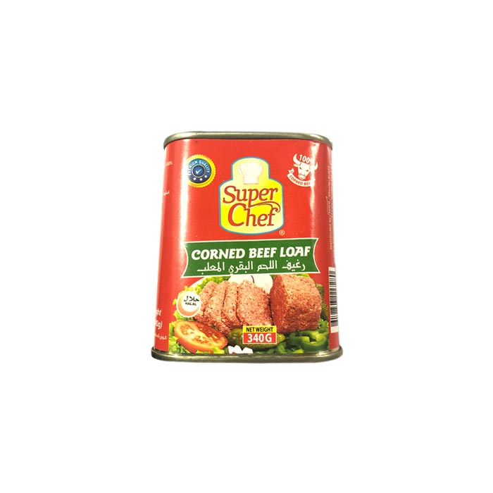 Super Chef Corned Beef Loaf 340 g
