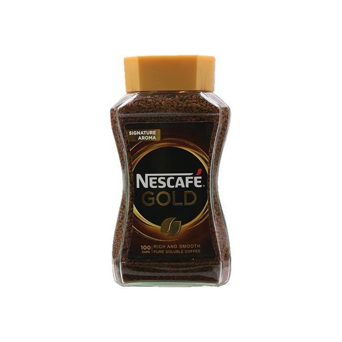 Nescafe Gold Rich and Smooth Coffee Jar 200 g