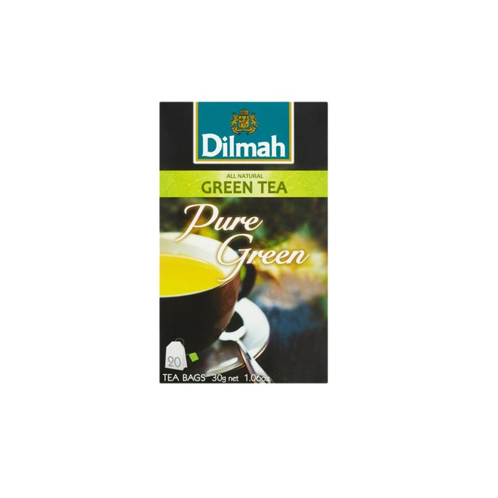 Dilmah Pure Green Green Tea (20 Bags)