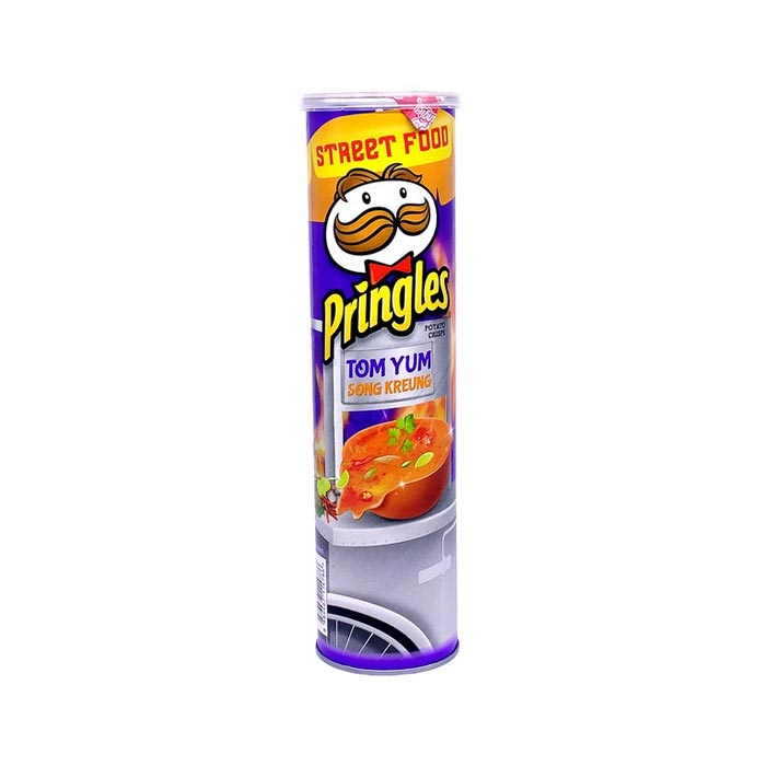 Pringles Potato Chips Tom Yum 147 g