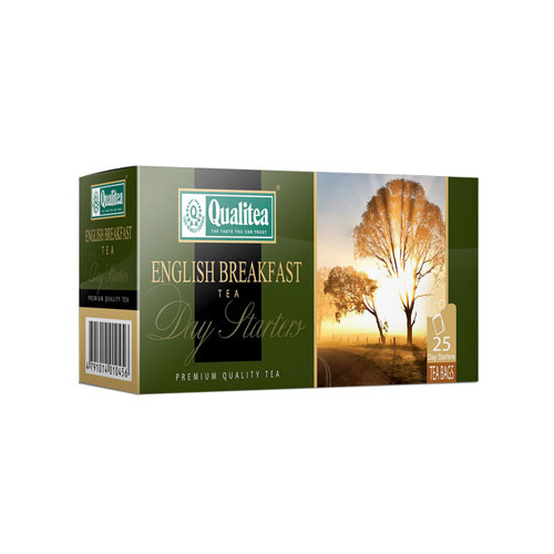 Qualitea English Breakfast Day Starter (25 Bags)