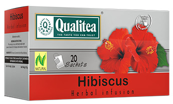 Qualitea Hibiscus Herbal Infusion (20 Bags)