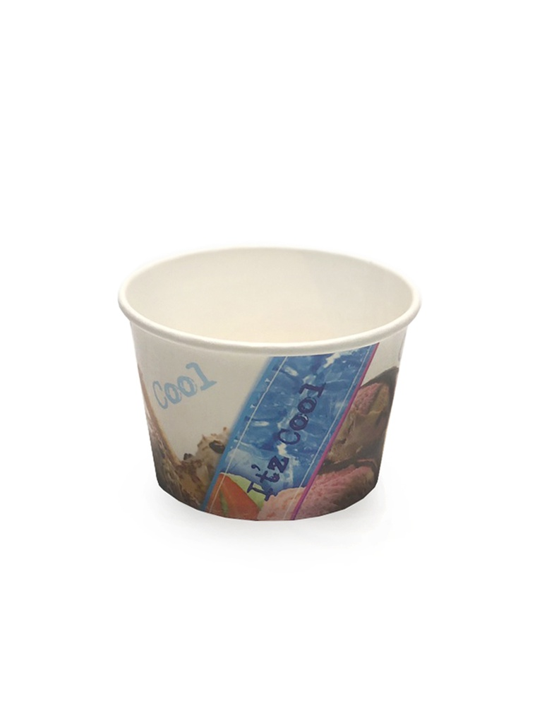 Hotpack Paper Ice Cream Cup | 250ml