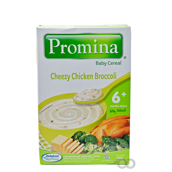 Baby Cereal Cheezy Chicken Broccoli | Promina 120g