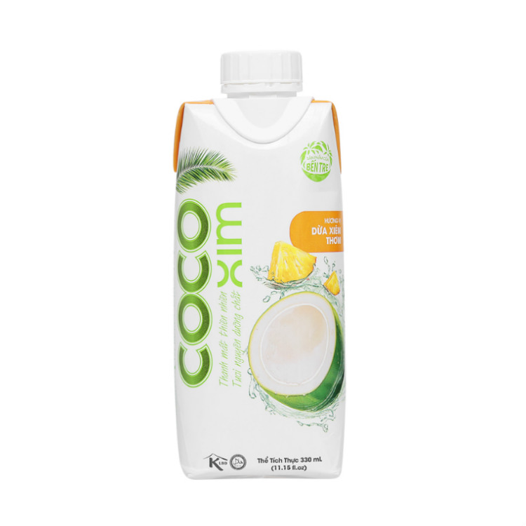 Coconut Water With Pineapple Juice | Coco Xim 330ml