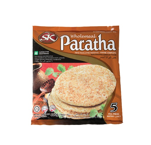 [I000132] Paratha Whole Meal | SK, Pack Of 5, 400 g