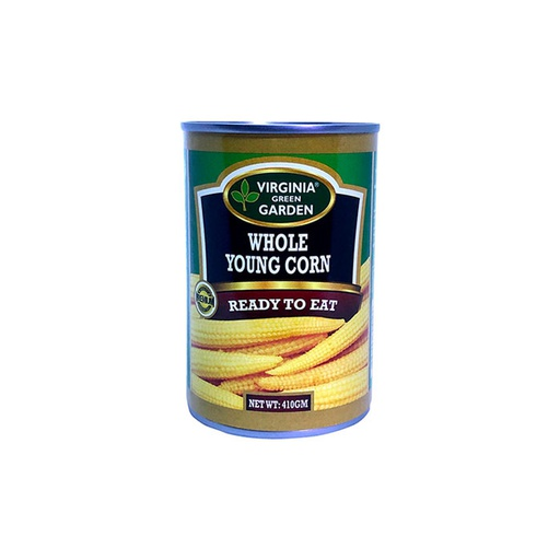 [I000198] Whole Young Corn | Virginia Green Garden, 400 g