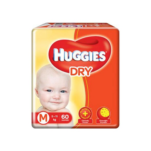 [I000255] Diapers | Huggies, Medium 60'S