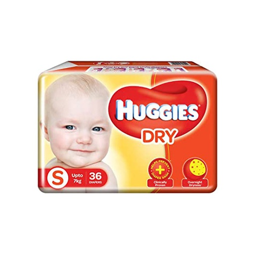 [I000256] Diapers | Huggies, Small 36'S