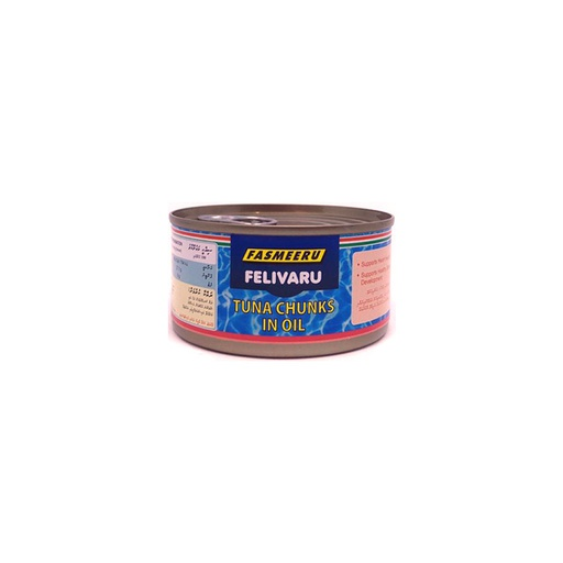 [I000287] Tuna Chunks In Oil | Felivaru, 180 g