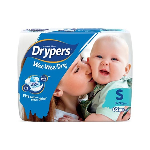 [I000296] Diapers | Drypers, Mega Small 82'S