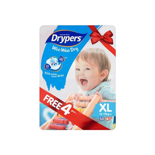 [I000299] Diapers | Drypers, Mega XL 50'S
