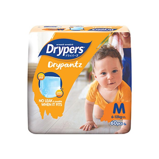 [I000301] Diapers | Drypantz, Mega, Medium, 60'S