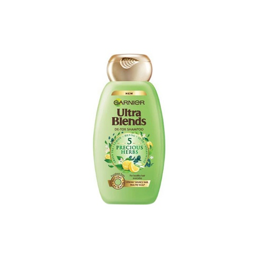 [I000338] Ultra Blends Shampoo 5 Precious Herbs | Garnier 175 ml