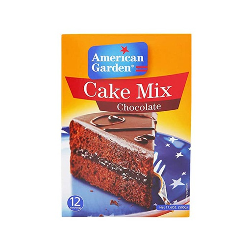 [I000472] Chocolate Cake Mix | American Garden 500 g