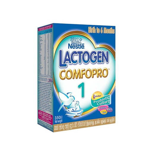 [I000478] ComfoPro-1 Birth to 6 months | Nestle Lactogen 350 g