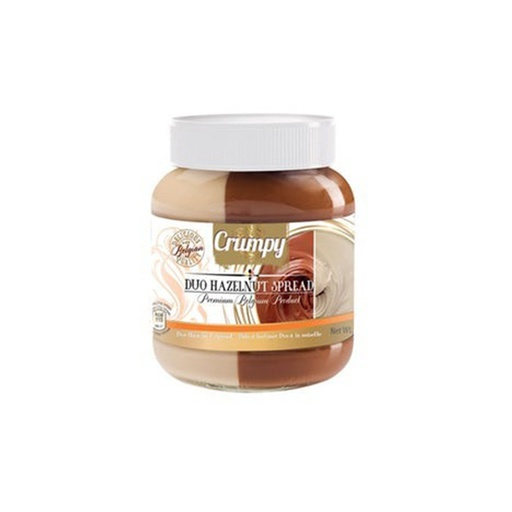 [I000503] Duo Hazelnut Spread | Crumpy 400 g
