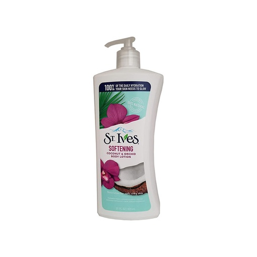[I000577] Body Lotion Softening  Coconut & Orchid | St. Ives  621 ml