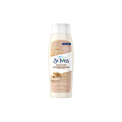 [I000578] Body Wash Soothing Oat Meal & Shear Butter | St. Ives  400 ml