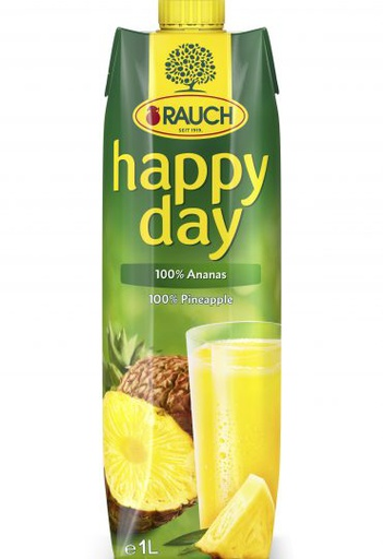 [I000663] Happy Day Pineapple Fruit Juice | Rauch 1 L