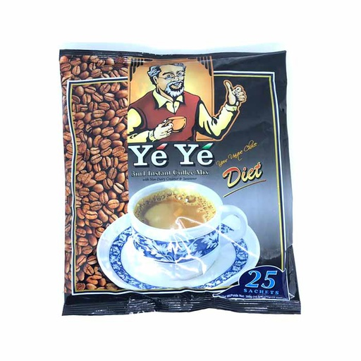 [I000701] Diet Instant Coffee Mix 3 in 1 | YeYe 25s x 12g