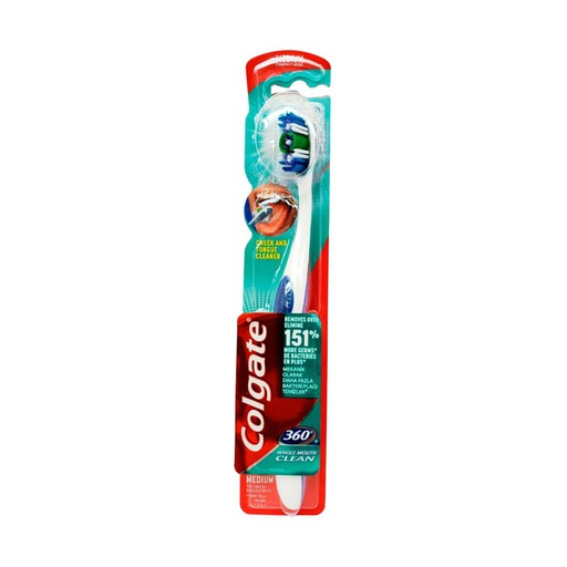 [I000714] Toothbrush 360 Whole Mouth Clean | Colgate (Medium)