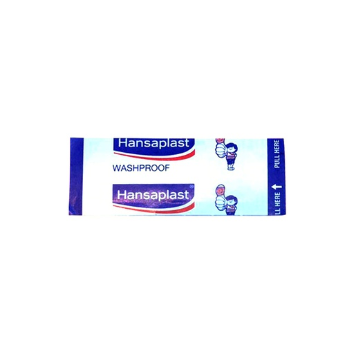 [I000912] Hansaplast Washproof Band Aid (each)