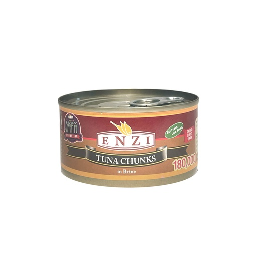 [I001073] Enzi Tuna Chunks In Brine 185 g