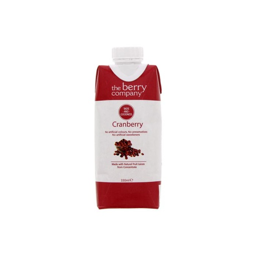 [I001122] The Berry Company Juice Drink Cranberry 330 ml