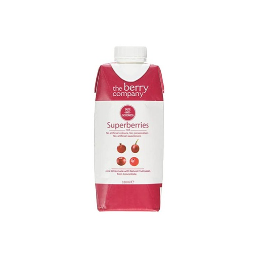 [I001123] The Berry Company Juice Drink Superberries Red 330 ml