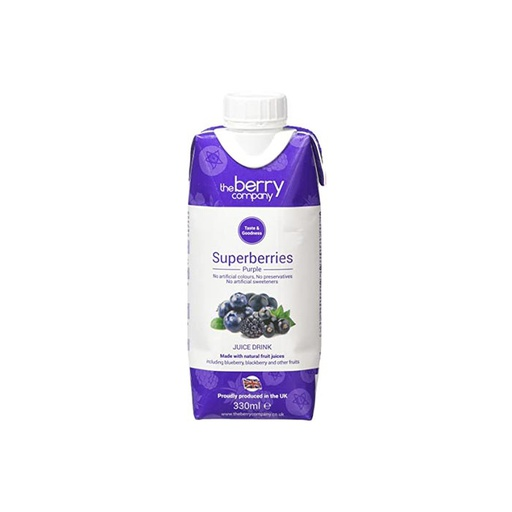[I001124] The Berry Company Juice Drink Superberries Purple 330 ml