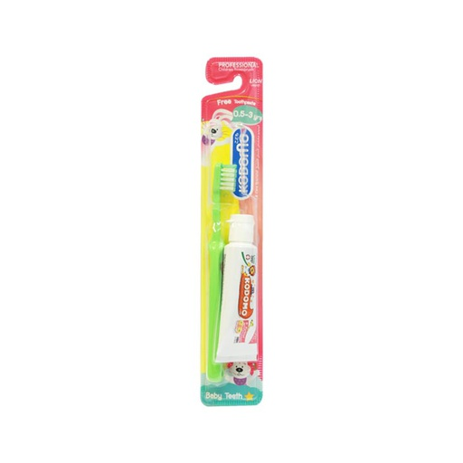 [I001317] Kodomo Toothbrush Soft & Slim 3 - 5 Years