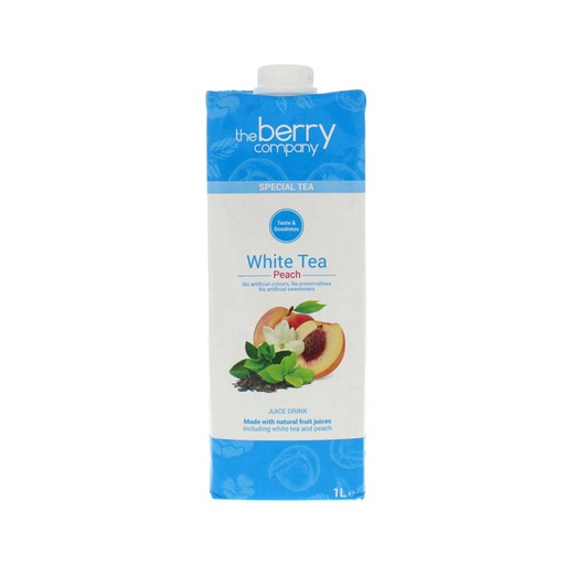 [I001357] The Berry Company Juice Drink White Tea Peach 1 L