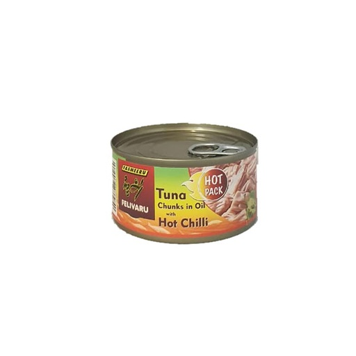[I001368] Felivaru Tuna Chunks In Oil With Hot Chilli180 g