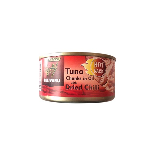 [I001389] Felivaru Tuna Chunks In Oil With Dried Chilli 180 g