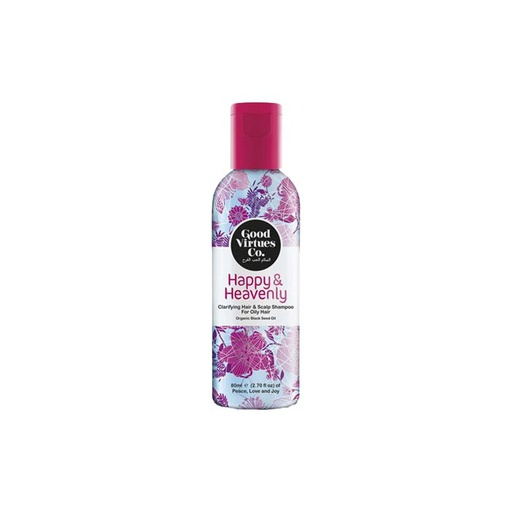 [I001435] Good Virtues Co Happy & Heavenly Clarifying Hair & Scalp Shampoo For Oily Hair 80 ml