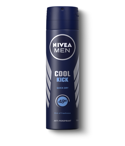 [I001551] Nivea Deodorant Spray Cool kick For Men 150 ml