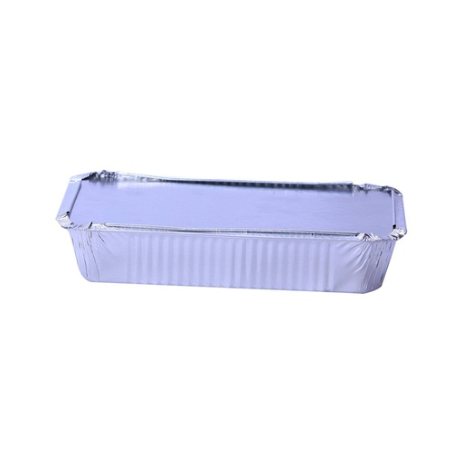 [I001612] Hotpack Aluminium Container Base + Lid | 210x140x38mm