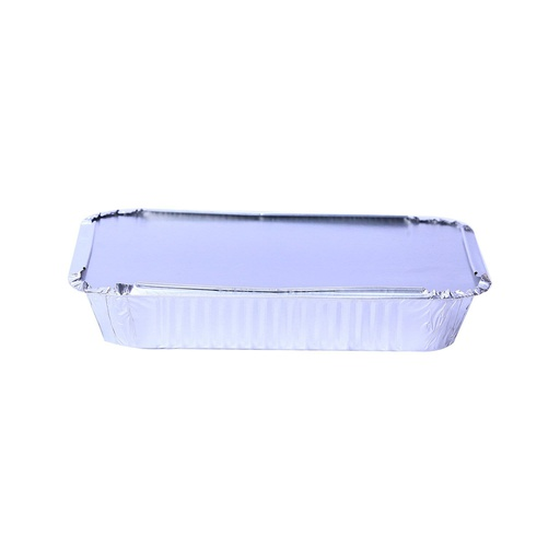 [I001613] Hotpack Aluminium Container Base + Lid | 235x190x35mm