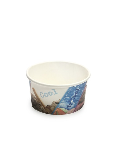 [I001623] Hotpack Paper Ice Cream Cup | 200ml