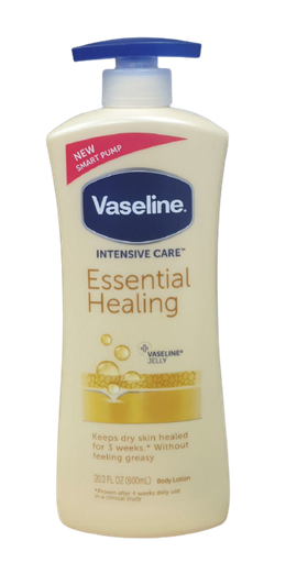 [I002520] Vaseline Intensive Care Essential Healing Body Lotion 600ml
